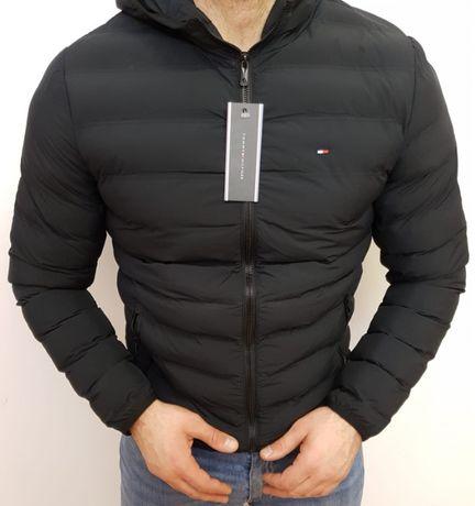 Kurtka męska jesienno.zimowa Tommy Hilfiger M L XL XXL TH logo szyte