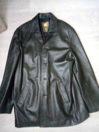 Куртка Италия. натуральная кожа 3XL . Massimo Dutti zara Mango