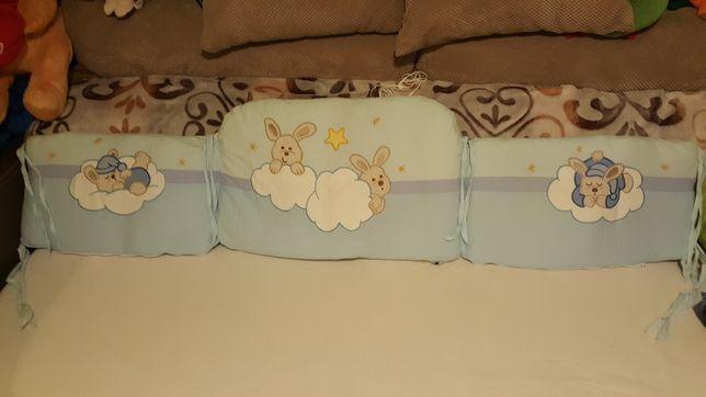 Feretti kołdra, ochraniacz do łóżeczka i poszewka na kołdrę i poduszk