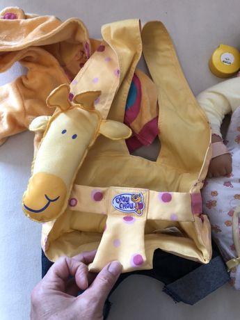 переноска , слинг , фирменная для куклы (типа Baby born)