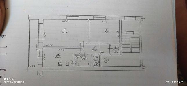 Продам 2 х комнатную квартиру в с. Пархомовка Краснокутский район
