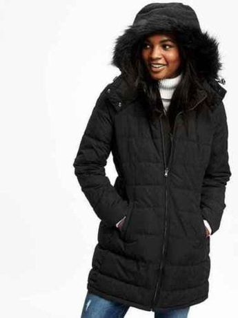 Женская теплая куртка парка old navy frost free hooded jacket