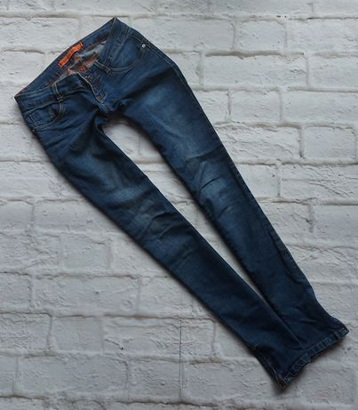 Jeansowe rurki z suwaczkami