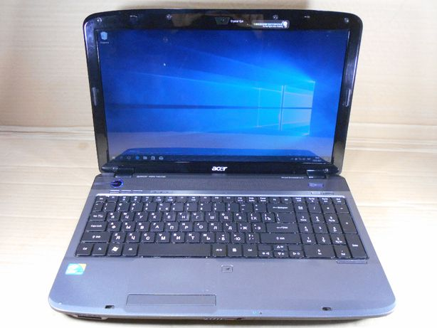 "Ноутбук Acer Aspire 5740 / 15.6"" / Intel Core i3 2x2.13 ГГц / RAM 4 ГБ"