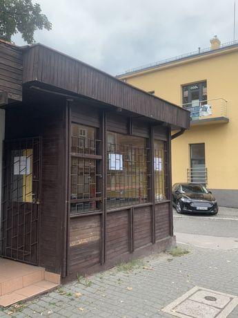 Ul. Dworcowa, murowany kiosk 15m2, przy głownej ulicy, 500zł brutto