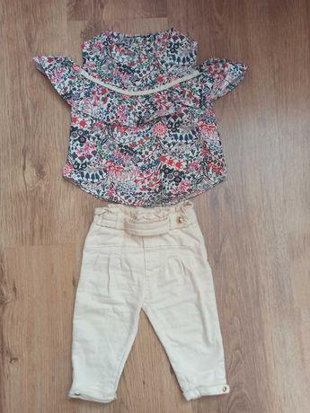 Штани і туніка  для дівчинки 68-74 см