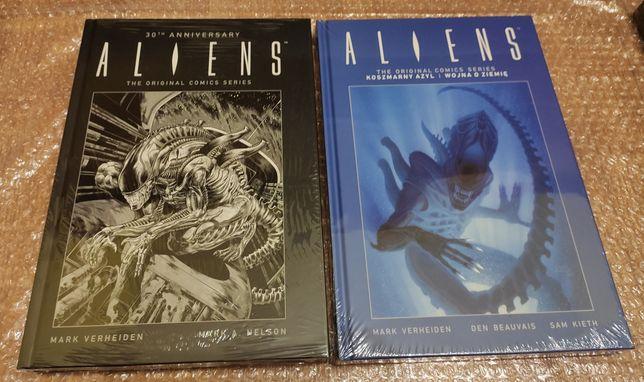 Aliens czarny Vol. 1 (I wydanie)  , vol. 2 niebieski 30th anniversary