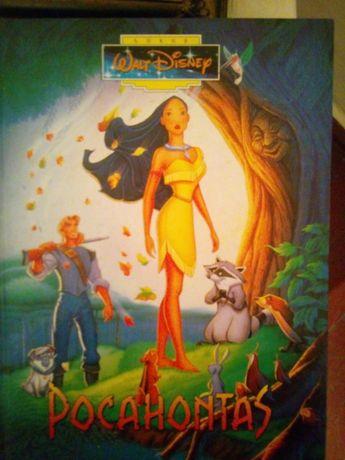 Книга чеською мовою Pocahontas