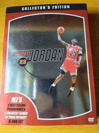 Michael Jordan ULTIMATE 6 DVD BOX jak Nowy okazja hit