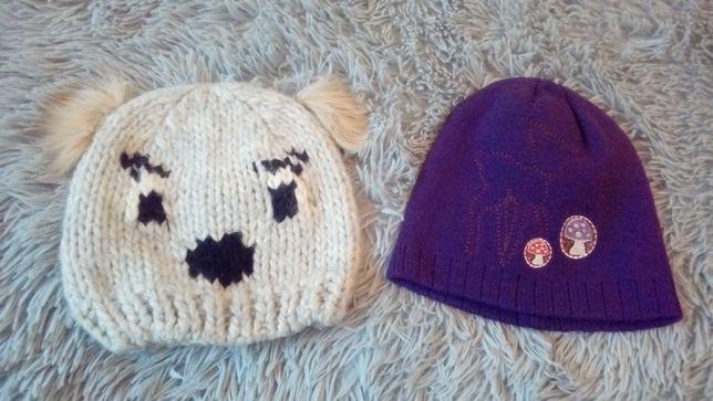 Zestaw 2 czapek czapka czapki dla dziewczynki 2-3l