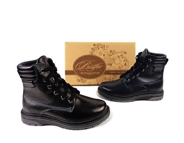 Bistfor, зимние ботинки, кожаные, с 32 по 36 рр, возможна примерка