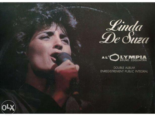 Linda de Suza al' olympia - bruno coquatrix - duplo LP vinil
