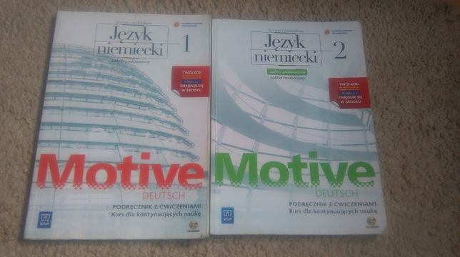 Motive deutsch 2 , podręcznik z ćwiczeniami do j.niemieckiego- WSiP
