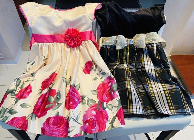 Нарядные платья на девочку 4 лет