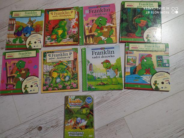 Książeczki książka franklin dvd bajka