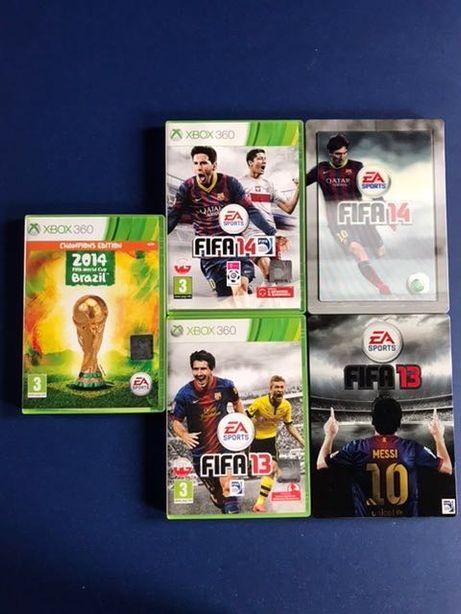 Zestaw gier FIFA XBOX 360