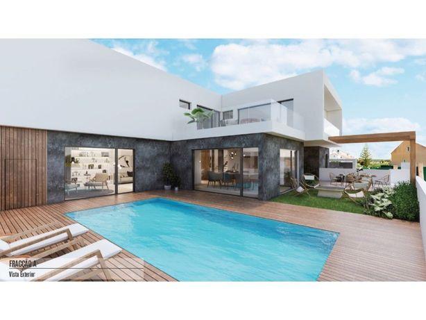 Fantástica Moradia T4 nova em construção na Rinchoa com p...