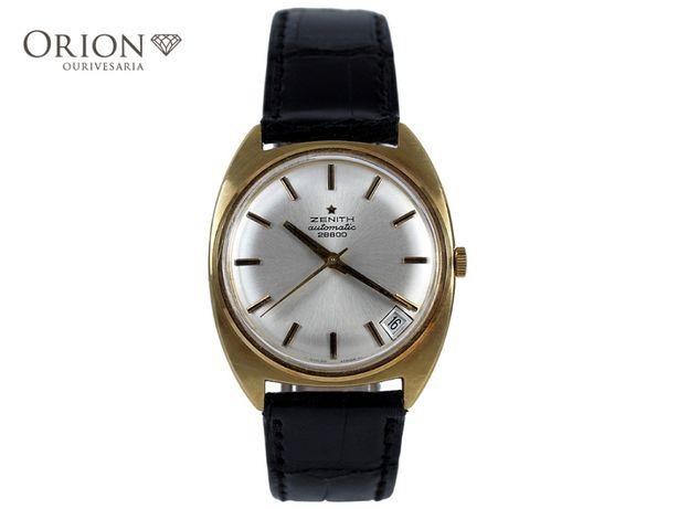 Relógio de pulso Zenith em ouro (1970)