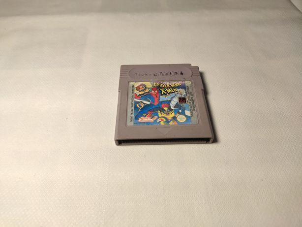 GRA SPIDERMAN XMAN *Nintendo gameboy Color, cartrige, kartridż*
