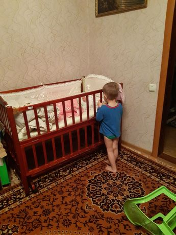 Детская кроватка Geoby 05LM604SС