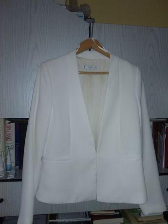 Żakiet ecru do sukni ślubnej