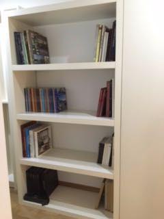 Lindíssimas estantes para livros