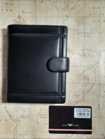 Мужской кожанный кошелек портмоне