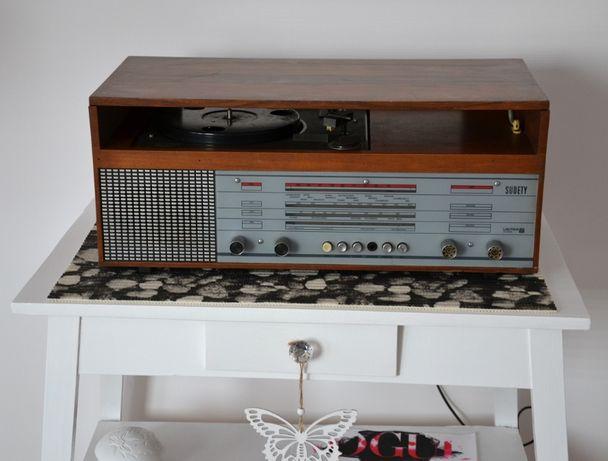 Radio - gramofon unitra SUDETY PRL