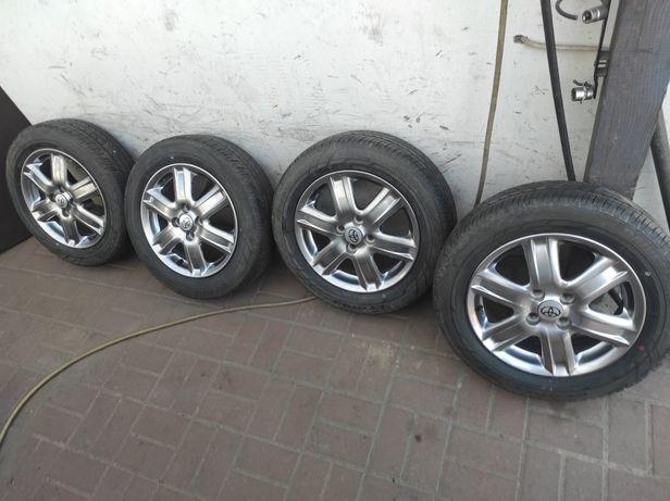 """4x100 Felgi Aluminiowe 15"""" Toyota Yaris Aygo z oponami letnimi 175/65"""