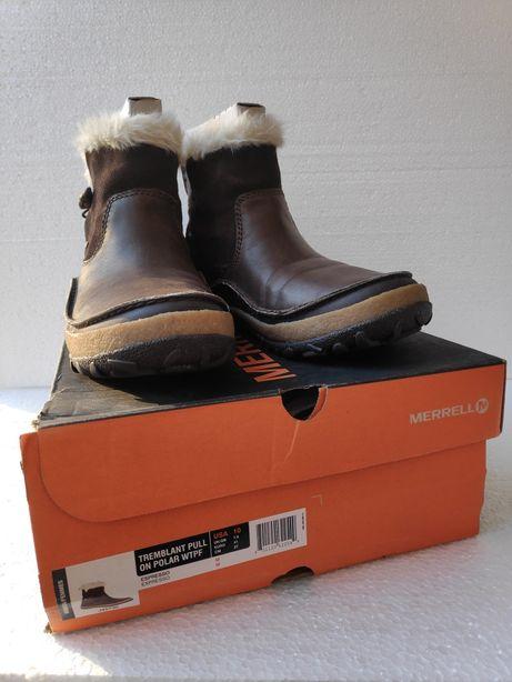 Женские зимние сапоги ботинки фирмы Merrell