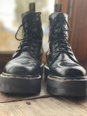 Dr. Martens Jadon — Black Polished Smooth (оригинальные б/у)