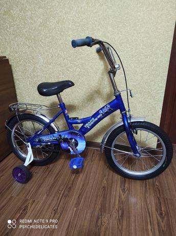 Велосипед детский для мальчика, диаметр колес 16 дюймов