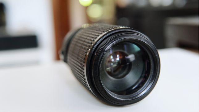 Lente vintage Canon FD