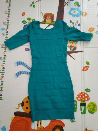 Платье mango, размер с ,тянется