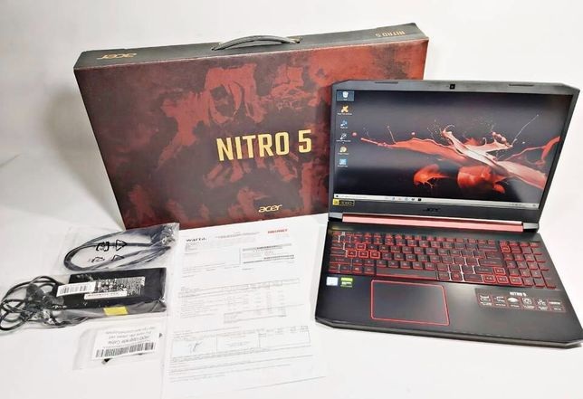 Acer nitro 5 (nowy) + system + antywirus