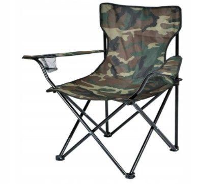 Krzesło wędkarskie turystyczne składane duże Moro