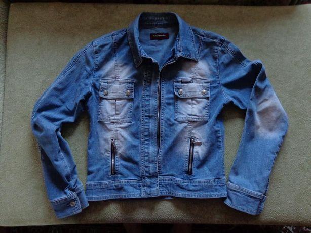 ветровка куртка джинсовка женская Caluofeier