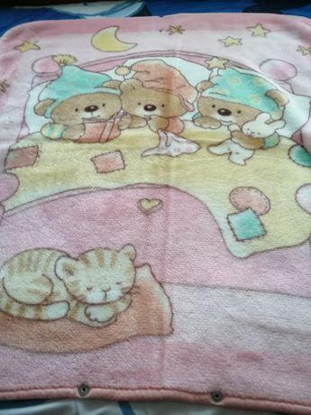 Cobertor de menina/Saco de dormir