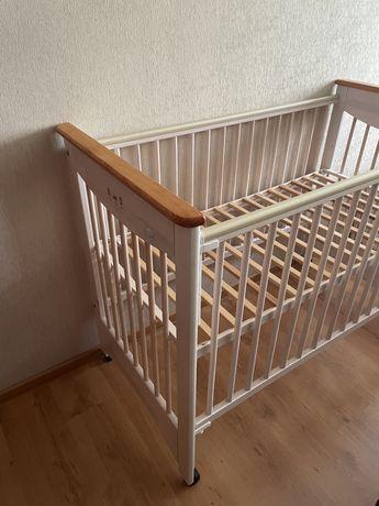 Детская кроватка Kolorino Drewex + матрас в подарок