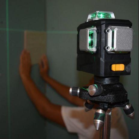 Poziomica 3x360/ Niwelator / Laser płaszczyznowy SAMOPOZIOM. + BLOKADA