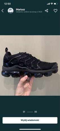 Nike Vapormax Plus / Czarne męskie