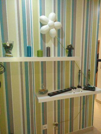 Fazemos colocação de papel de parede e Pintura de Interiores