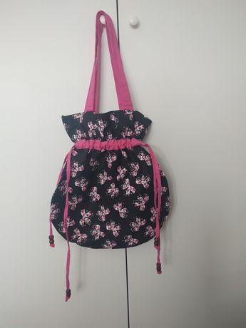 Materiałowa torba, torebka eco, atmosphere, na ramię, shopper