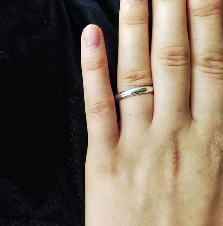 Srebrna stara obrączka srebrny stary pierścionek