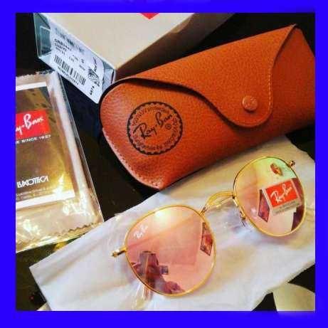 Ray ban 3447 dourado rosa mirror 3025 e 3026 rayban oculos de sol