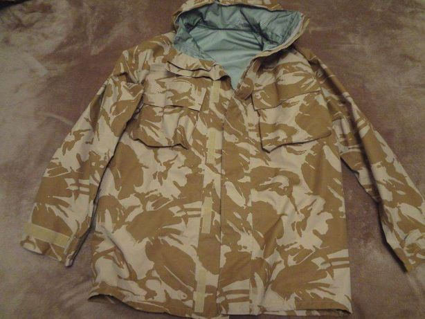 Casaco Impermeável militar em Goretex com camuflagem DPM