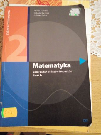 Zbiór zadań matematyka kl 2 rozszerzenie