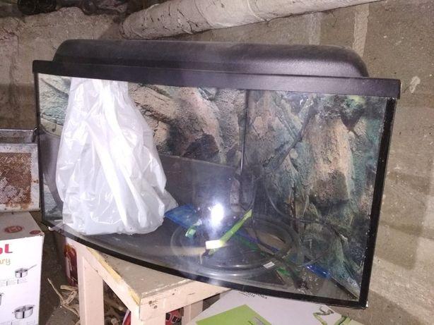 Akwarium narożne 57x57x40