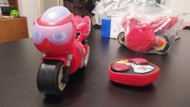 Motocykl zdalnie sterowany RC zabawka