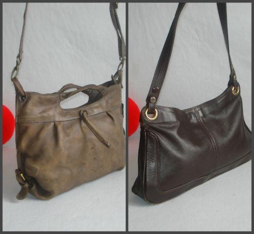 Брендовая кожаная сумка бренд aunts&uncles 100% кожа